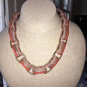 Vintage never worn J Crew crystal link necklace